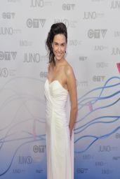 Brandi Disterheft on Red Carpet - 2014 Juno Awards in Winnipeg
