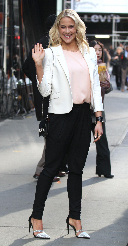 Brittany Daniel Good Morning America Talk Show In Times Square April