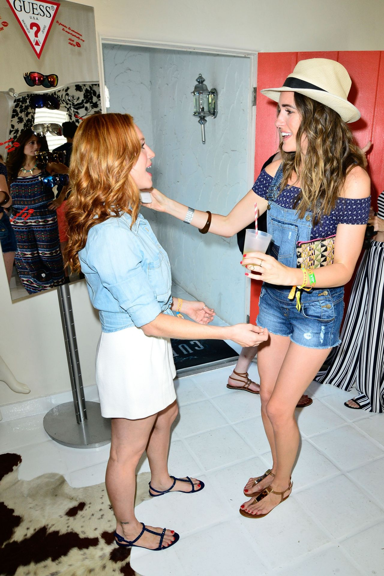 brittany snow guess hotel at the viceroy in palm springs
