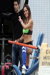 Brooke Burke - Sketchers Photoshoot Set Photos - April 2014