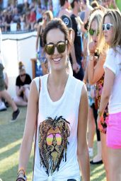Camilla Belle - 2014 Coachella Valley Music & Arts Festival in Indio