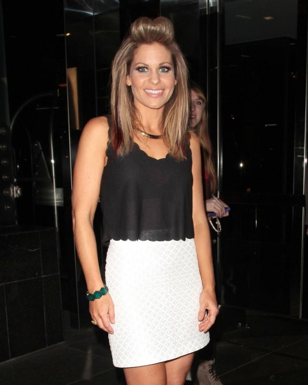 Candace Cameron Bure Night Out Style - West Hollywood - April 2014