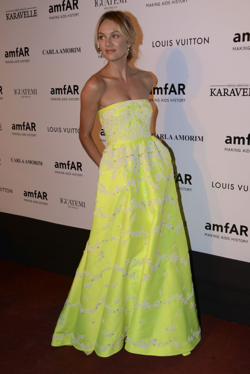 Candice Swanepoel - 2014 amfAR