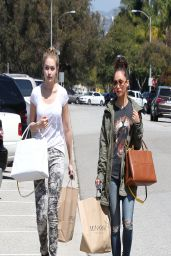 Cara Santana - After shopping at MinkPink in Los Angeles - April 2014