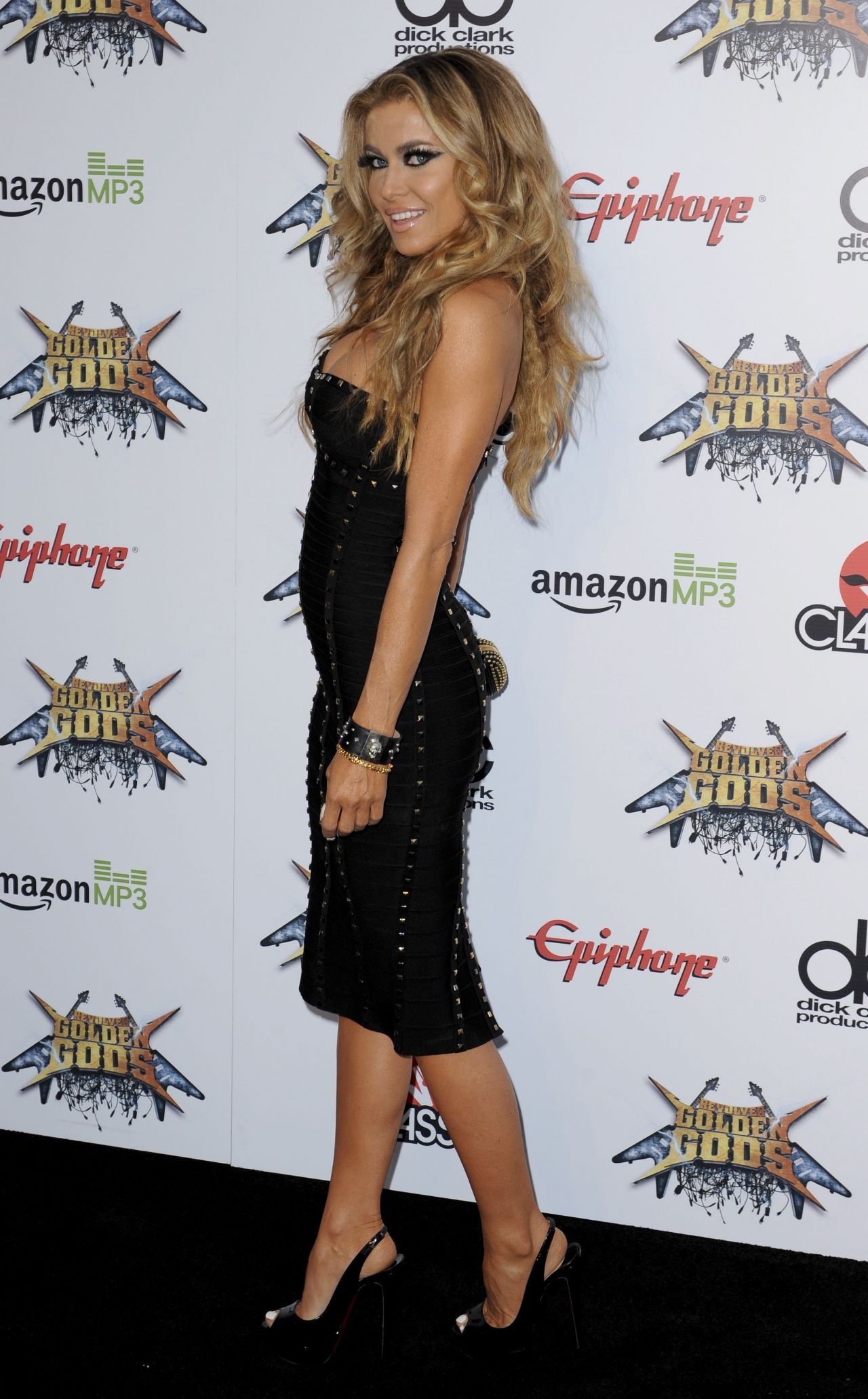 Carmen Electra 2014 Revolver Golden Gods Awards In Los