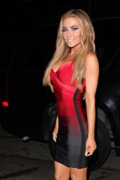 Carmen Electra Night Out Style - Leaving Hooray Henry