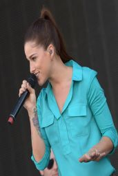 Cassadee Pope - Performs at Country Thunder USA in Florence, Arizona - April 2014