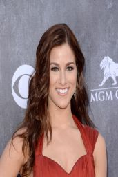 Cassadee Pope Wearing Maria Lucia Hohan Dress - 2014 Academy Of Country Music Awards in Las Vegas