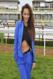 Chelsee Healey - Aintree Race Course for the Grand National - April 2014