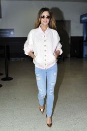 Cheryl Cole Arriving in LA - April 2014