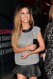 Cheryl Cole & Kimberley Walsh London Night out Style - April 2014