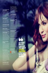 Christina Hendricks - Health Magazine May 2014 Issue