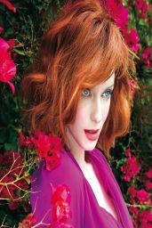 Christina Hendricks Rhapsody Magazine April 2014 Issue