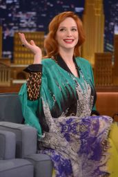 Christina Hendricks - The Tonight Show With Jimmy Fallon - April 2014