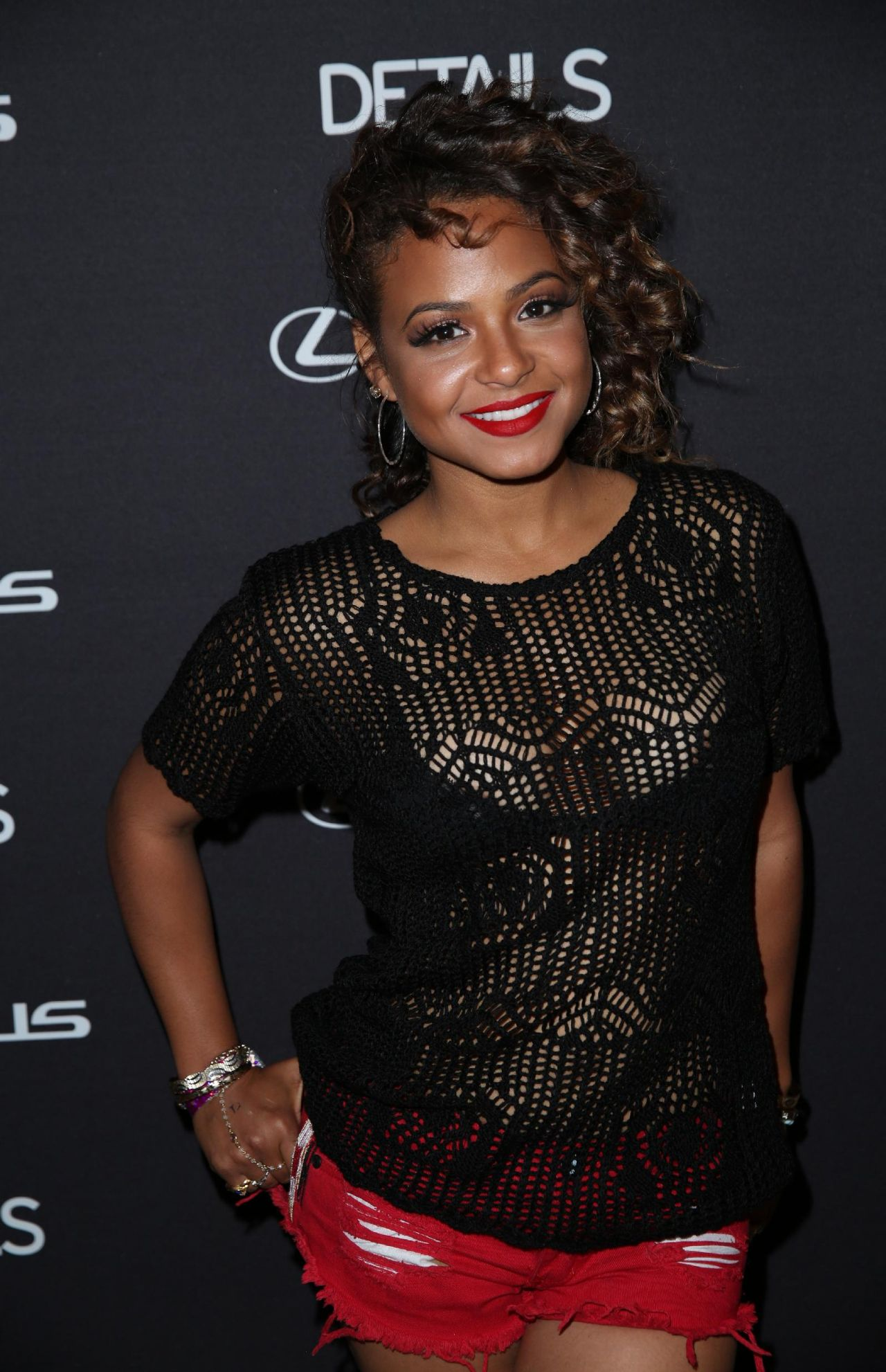 Christina Milian - Details Midnight party in Bermuda Dunes - April 2014