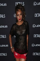 Christina Milian - Details Midnight party in Bermuda Dunes - April 2014