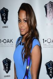 Christina Milian Night Out Style - 1 Oak Nightclub in West Hollywood