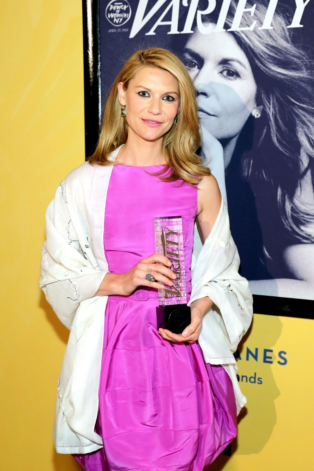 Claire Danes - Variety's Power of Women: New York - April 2014