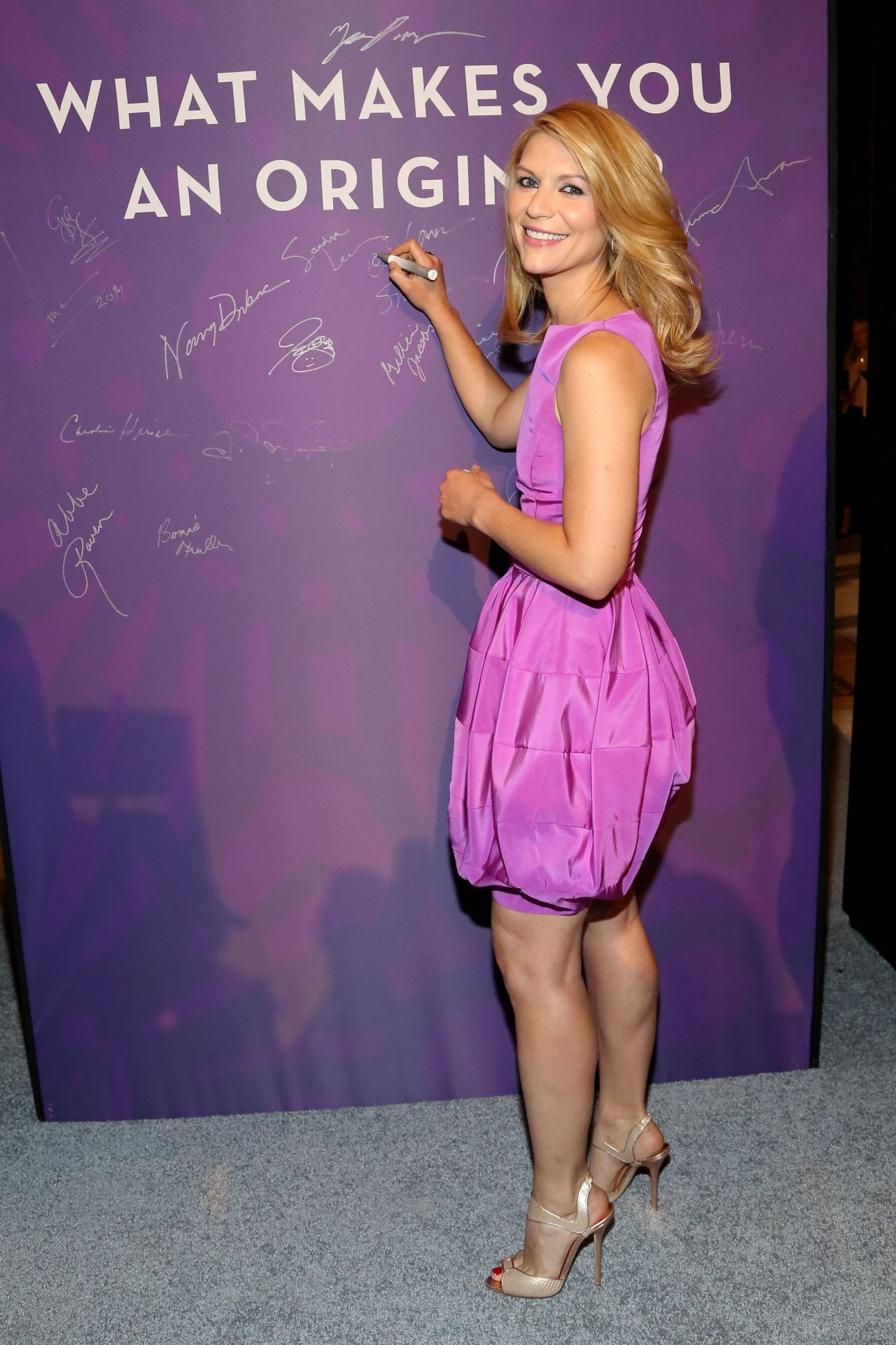 Claire Danes Variety S Power Of Women New York April 2014