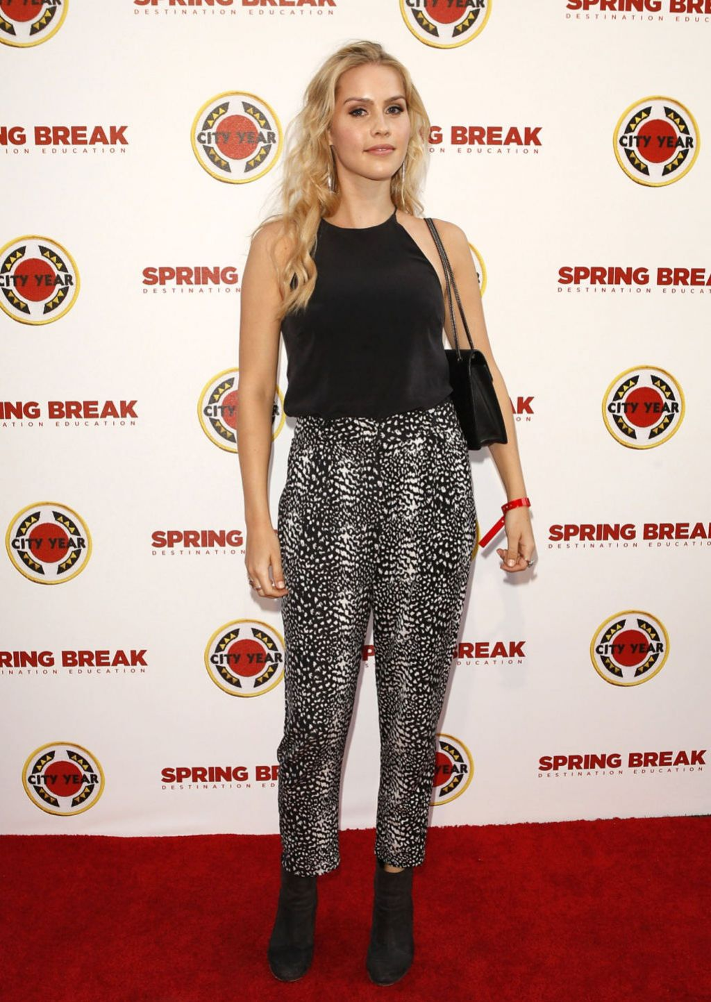 Claire Holt - City Year Spring Break Fundraiser (2014) in Los Angeles
