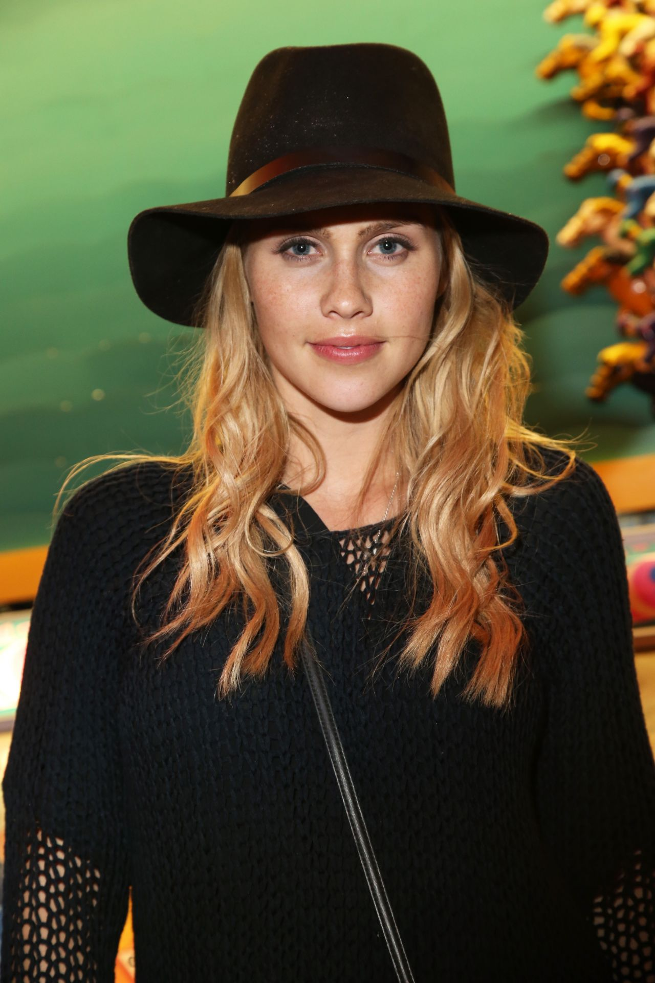 Claire Holt - NYLON and Olay Neon Carnival in Thermal (California) - April 2014