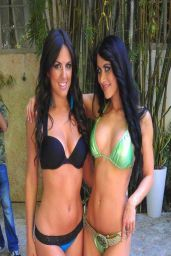 Claudia Romani in a Bikini - Facebook, April 2014