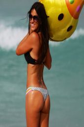 Claudia Romani in a Bikini in Miami Beach - April 2014
