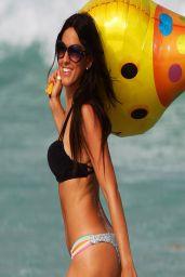 Claudia Romani in a Bikini in Miami Beach - April 2014