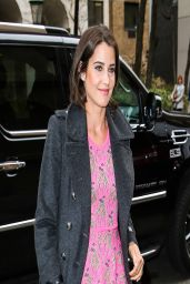 Cobie Smulders Arrives for Katie Couric Show in NYC - April 2014