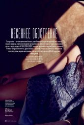 Cobie Smulders - InStyle Magazine (Russia) - April 2014 Issue