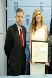 Connie Britton - Announced as UNDP Goodwill Ambassador - April 2014