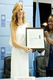 Connie Britton - Announced as UNDP Goodwill Ambassador - April 2014
