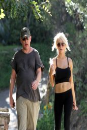 Courtney Stodden With Her Ex-Husband Doug Hutchinson - Hollywood Hills