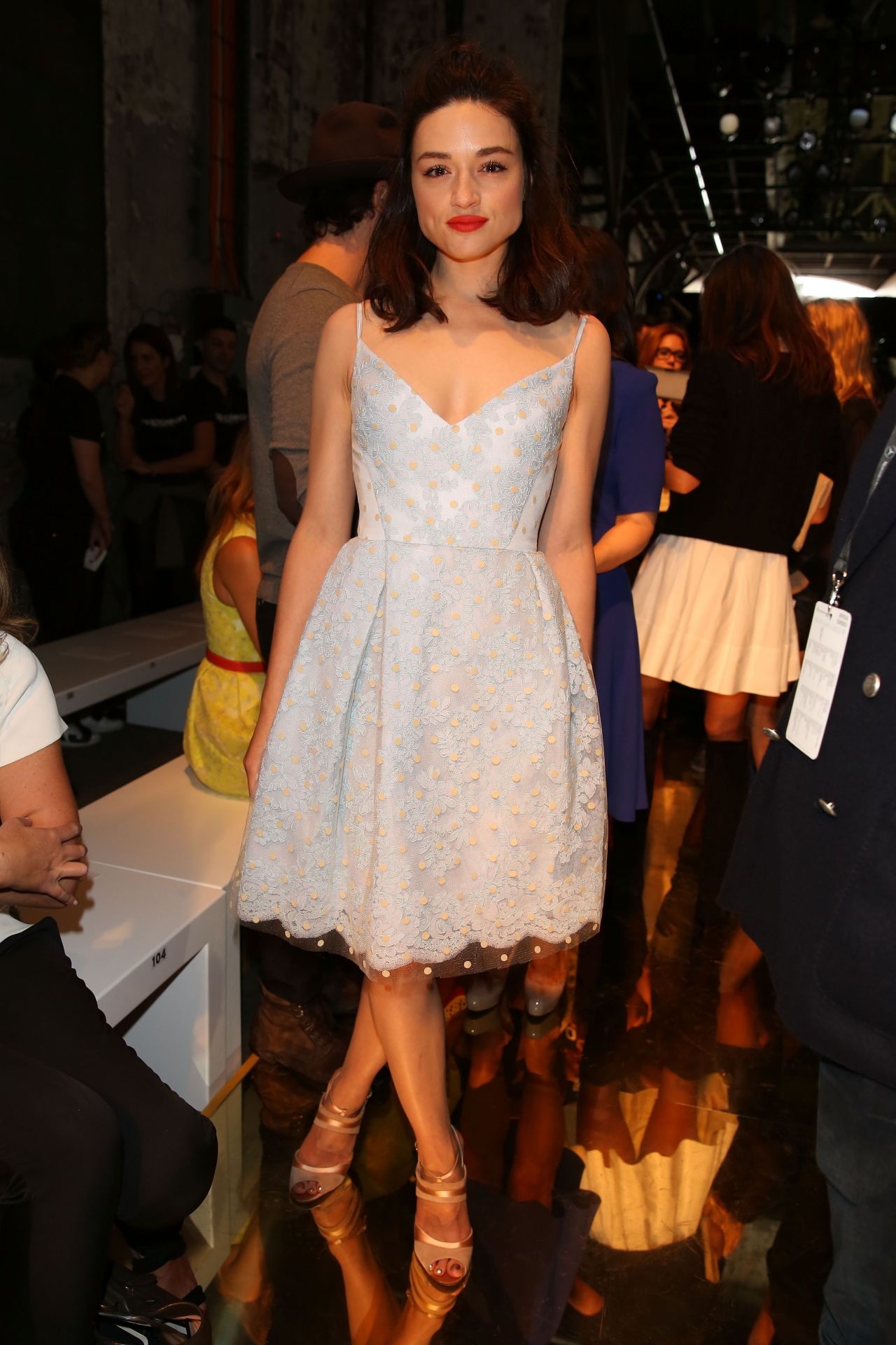 Crystal Reed - Alex Perry Fashion Show in Sydney - April 2014