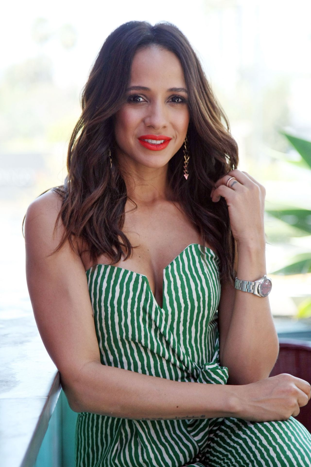 Dania Ramirez - EXTRA at Westfield Century City - April 2014