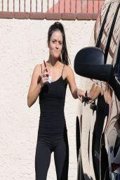 Danica McKellar - DWTS Rehearsal in Los Angeles - April 2014