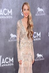 Danielle Bradbery Wearing Jovani Gown 2014 Academy Of Country Music Awards in Las Vegas