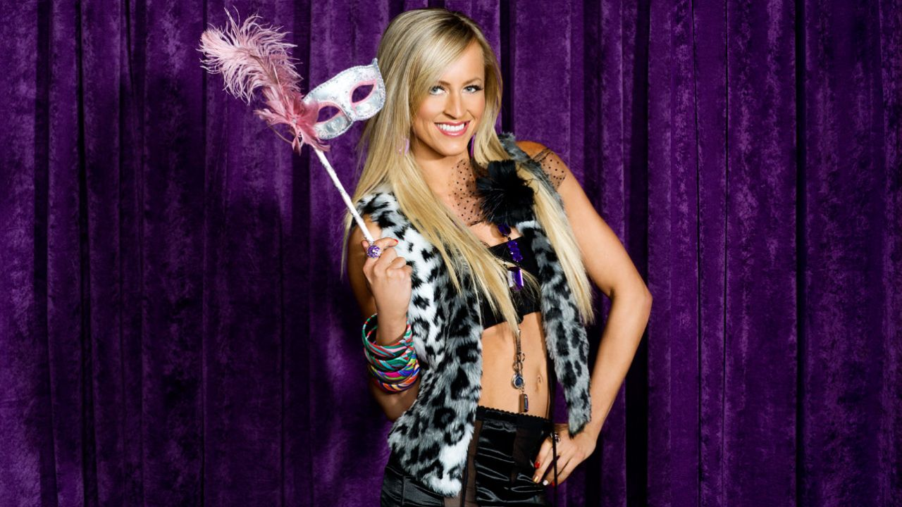 Danielle Moinet (Summer Rae) - Wrestlemania 30 Divas Photoshoot