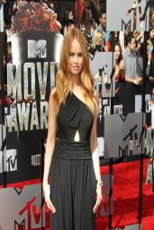 Debby Ryan Wearing Rachel Zoe Jumpsuit - 2014 MTV Movie Awards in LA