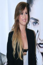 Demi Lovato - Promoting Her CD in Brazil - April 2014