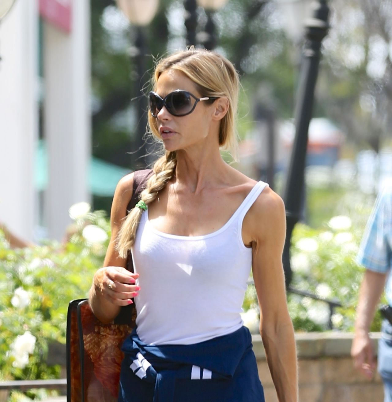 Denise Richards in Jeans Out in Calabasas - April 2014