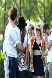 Dianna Agron - 2014 Coachella Valley Music and Arts Festival in Indio