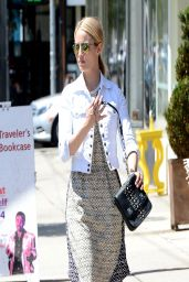 Dianna Agron Casual Style - out in Hollywood - April 2014