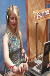 Dianna Agron - Fruttare Hangout at Coachella - April 2014