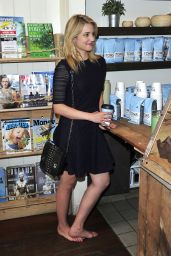 Dianna Agron - Go Without Shoes for Toms (2014)
