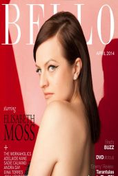 Elisabeth Moss - Bello Magazine April 2014 Issue