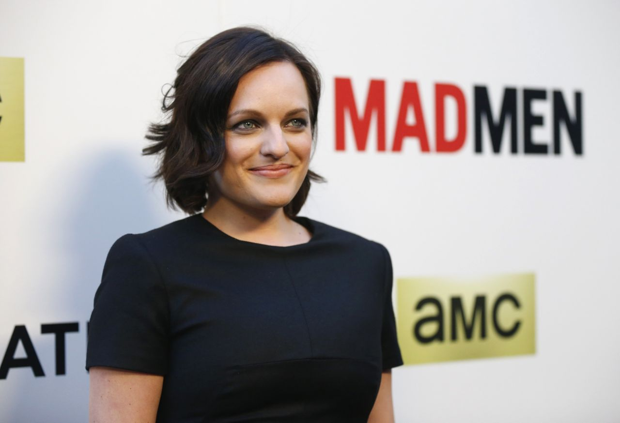 Elisabeth Moss - 'Mad Men' TV Series Season 7 Premiere in Hollywood
