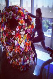 Elizabeth Gillies – Social Media Photos – March 2014 Collection