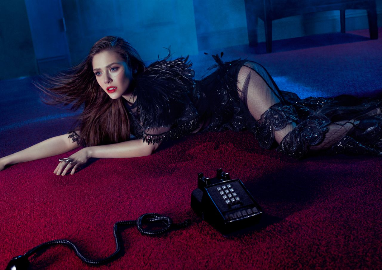 Elizabeth Olsen - 2014 Flaunt magazine May 2014 Issue