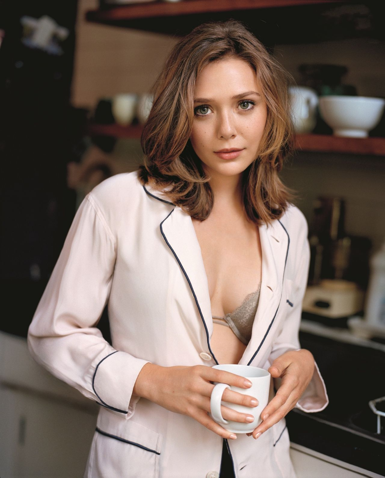 Elizabeth Olsen – Matt Jones Photoshoot for GQ Magazine (2014)